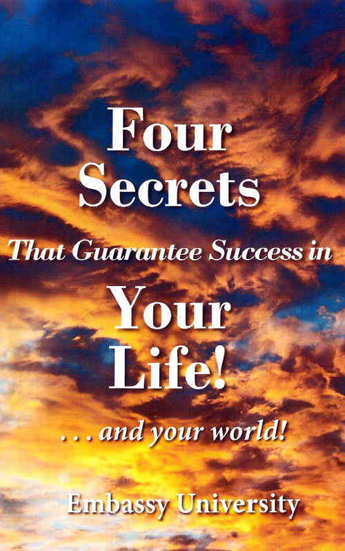 Four Secrets That Will Transform Your Life! cover