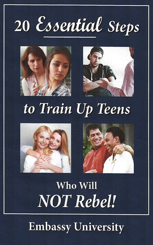 20 Essential Steps to Train Up Teens Who Will NOT Rebel!