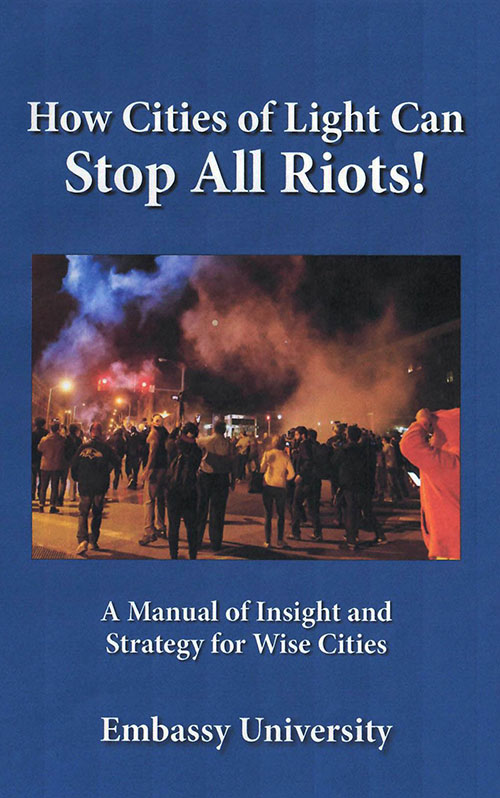 How Cities of Light Can Stop All Riots cover