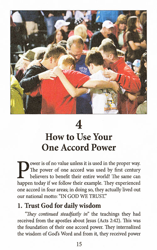 How to Achieve One Accord Power inside 2