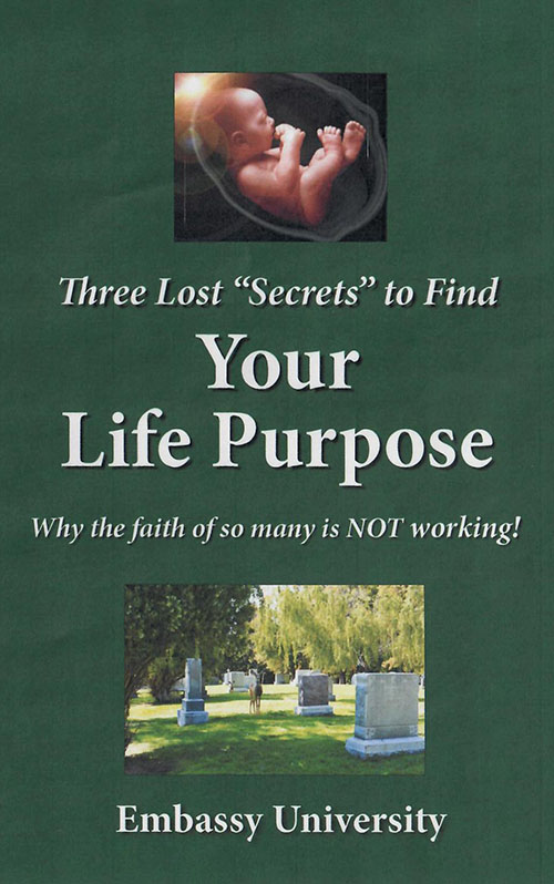 Three Lost Secrets to Find Your Life Purpose cover