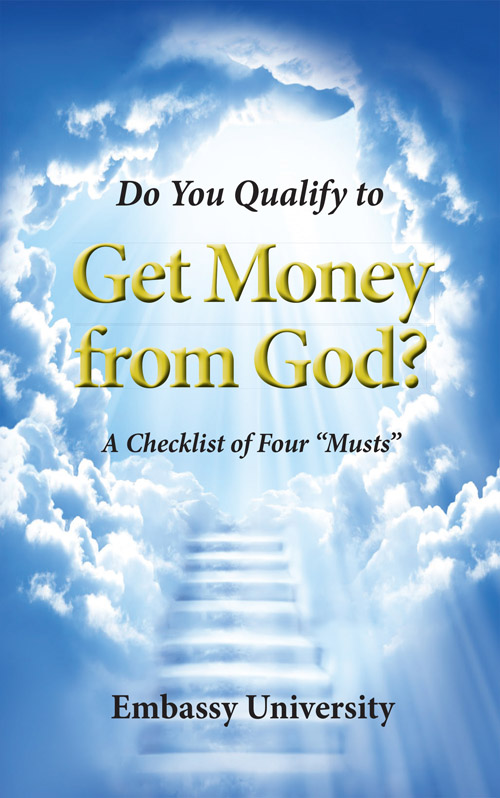 Do You Qualify to Get Money From God cover